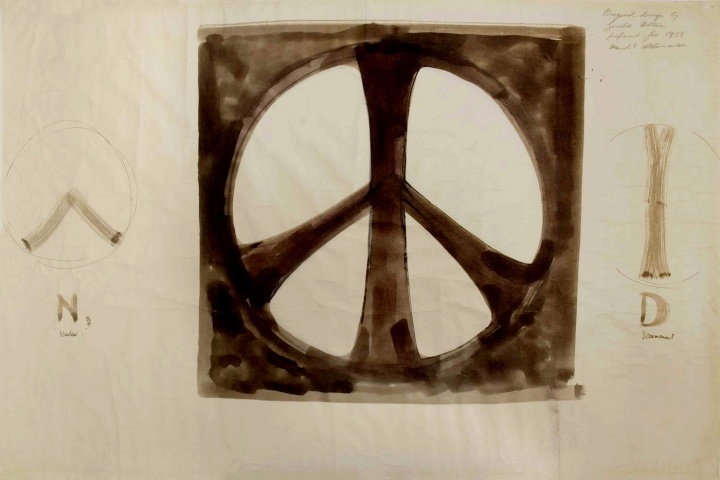 The story of the peace sign (and other iconic symbols)