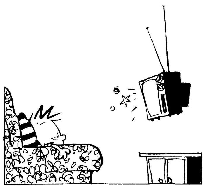 Drawn Out: Television sets