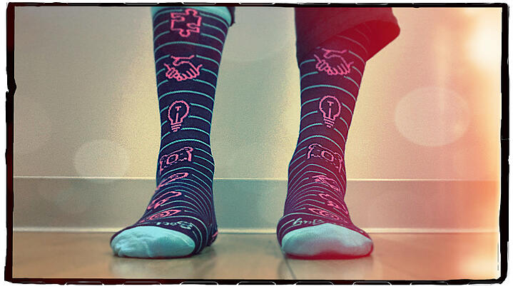 Who doesn't love cool socks?