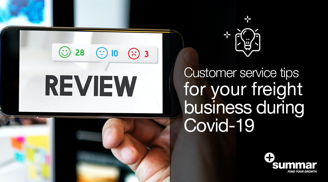 Customer service during Covid-19