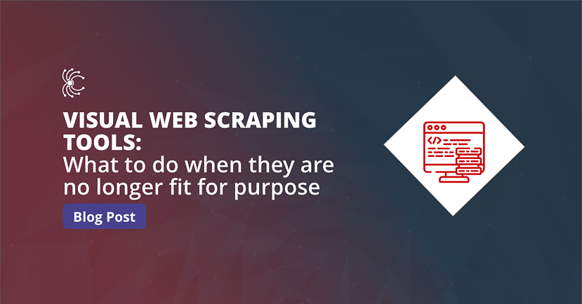 Blog featured image - Visual Web Scraping Tools