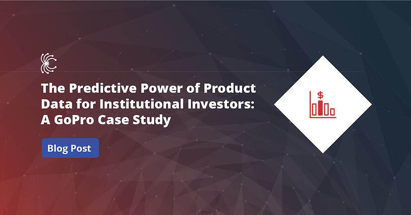 Predictive Power of Web Product Data For Institutional Investors - GoPro Case Study