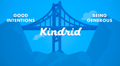Bridging the gap between good intentions and generosity. This is why Kindrid exists.