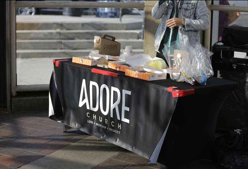 Community Outreaches as part of Adore Church