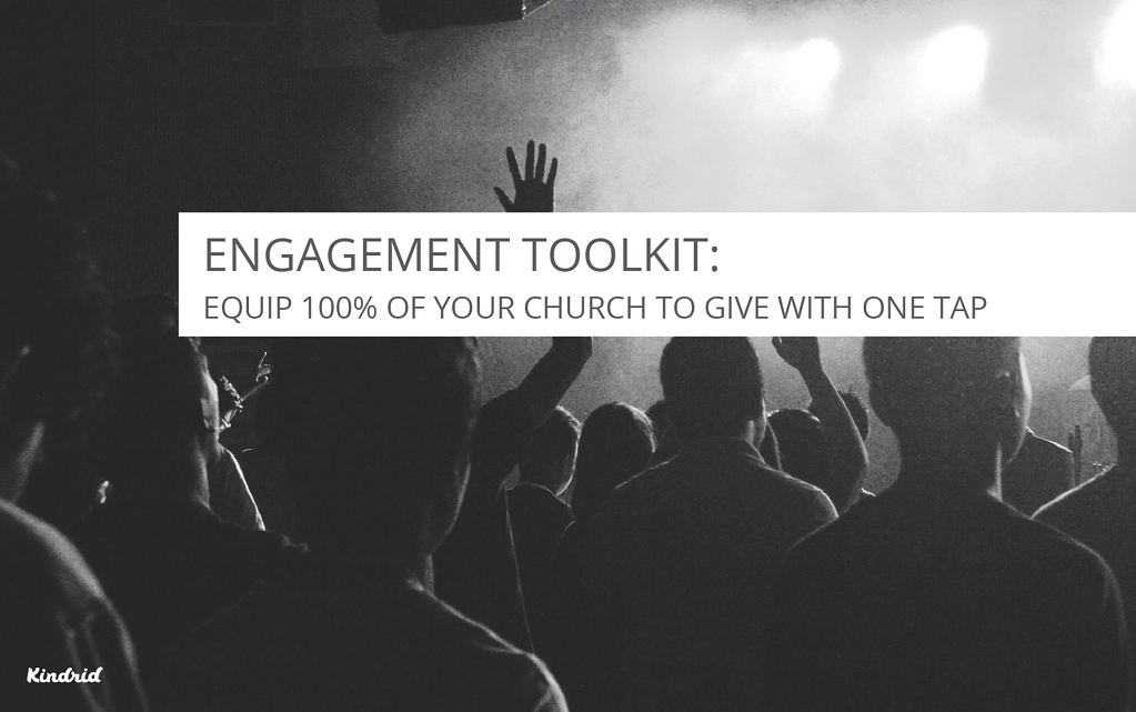Learn how to use Smart Giving to equip your whole church to give in a moment