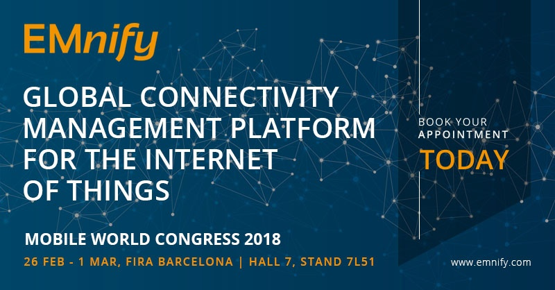 EMnify at the Mobile World Congress 2018