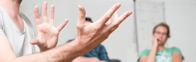 Praktijk Ludens - 'Een linkse directe'