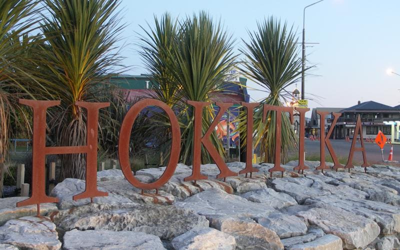 Hokitika Sign