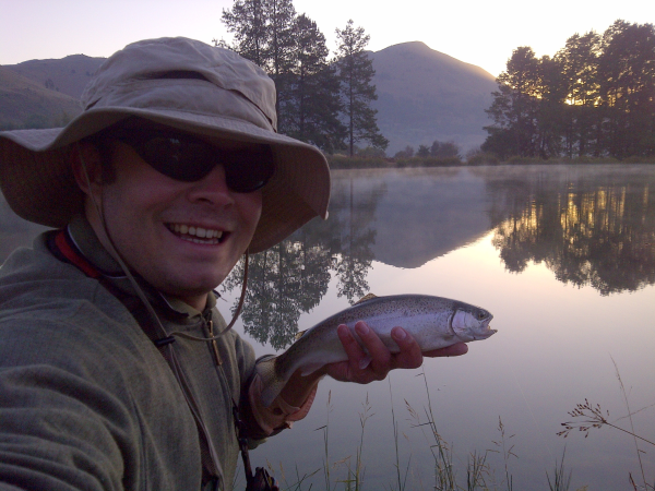 Flyfishing in Dullstroom
