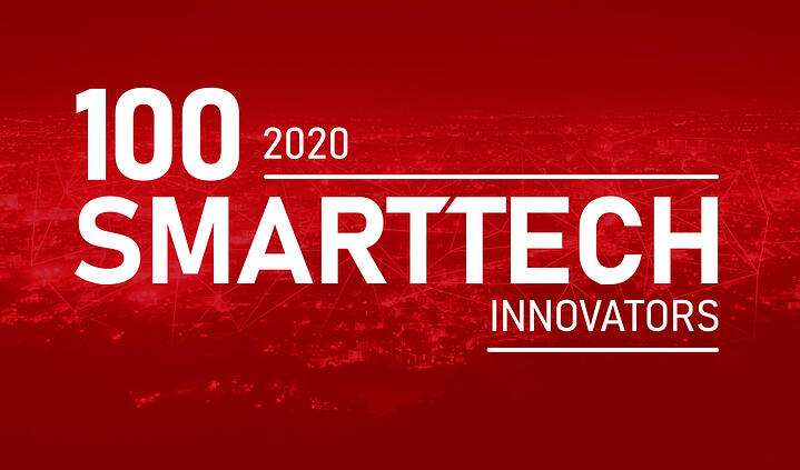 We've been nominated for the 100 SmartTech Innovators ranking