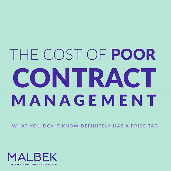 Cost of Contract Management