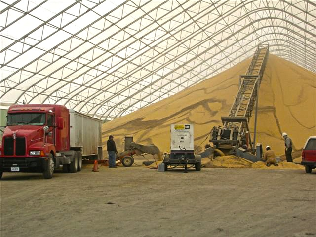 Fabric Buildings Save US Crops as Storage Costs Rise