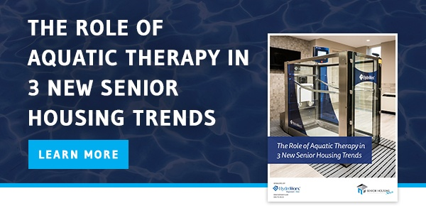 The Role of Aquatic Therapy in 3 New Senior Housing Trends