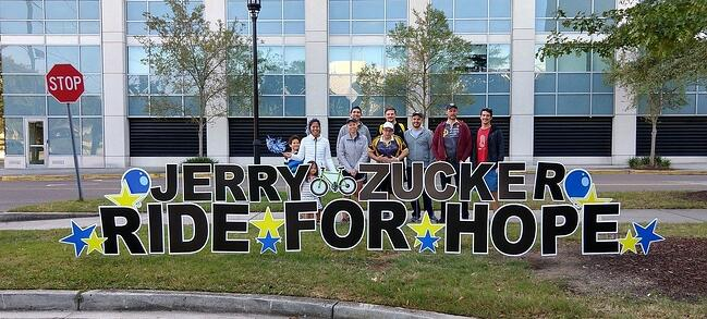Jerry Zucker Ride for Hope