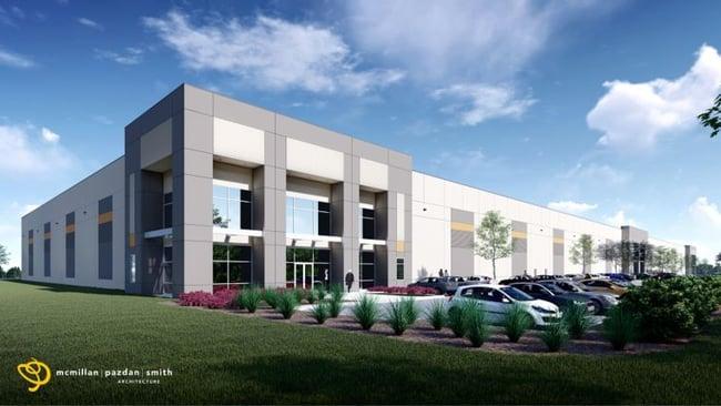 Meadow Oak Commerce Center Breaks Ground
