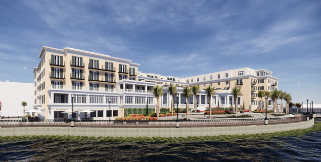 Charleston Waterfront Hotel Receives Unanimous Approval