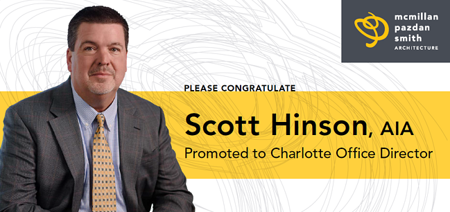 Scott Hinson Named Charlotte Office Director