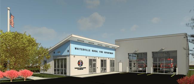 Groundbreaking atWhitesville Rural Volunteer Fire Department Headquarters