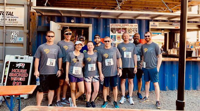 MPS Spartanburg Takes on Partners for Active Living Run Downtown 5K