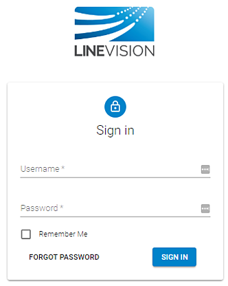 Interface Login