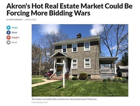 Akron's Hot Real Estate Market Could Be Forcing More Bidding Wars