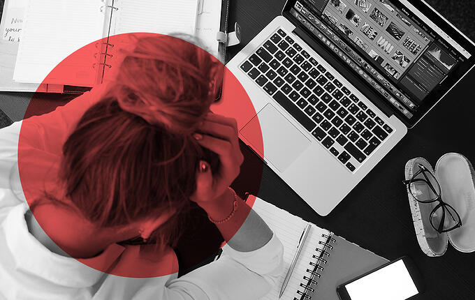 Does stress seem to be wherever you go?