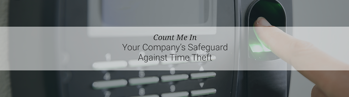 Make Time Theft A Thing Of The Past