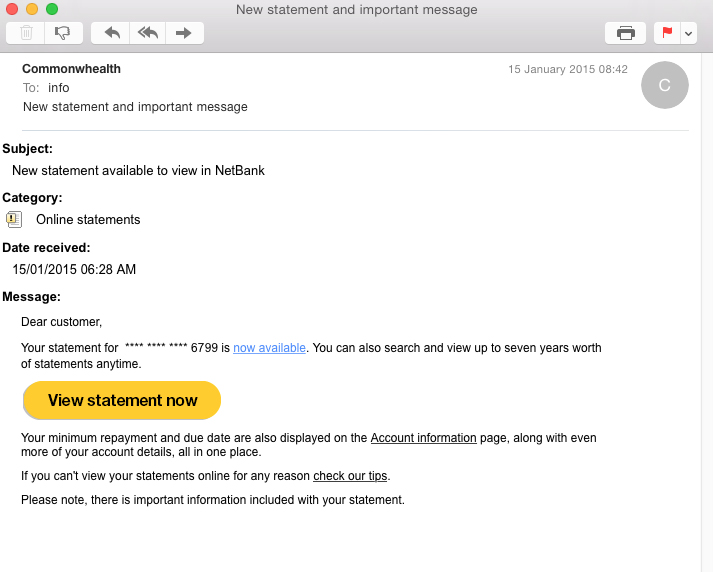MailGuard Breaking IT News: New Online Banking Scam
