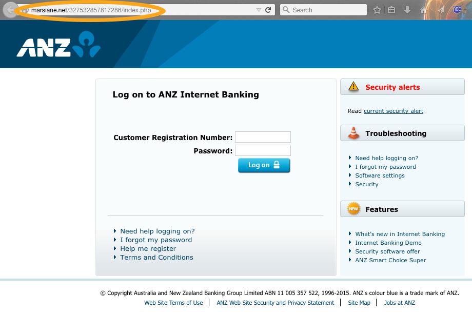 anz bank australia internet banking