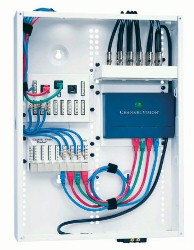 consider structured av wiring for your audio video systems the signal travels from the structured wiring cabinet