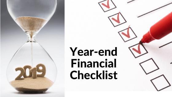 8 Point Year-end Financial Planning Checklist