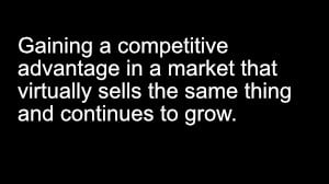ATS Episode 2: How to gain an advantage in a very competitive market.