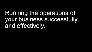 ATS Episode 3: How to run the operations of your business effectively.