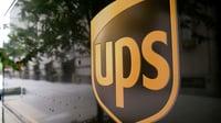 UPSlogoontruck