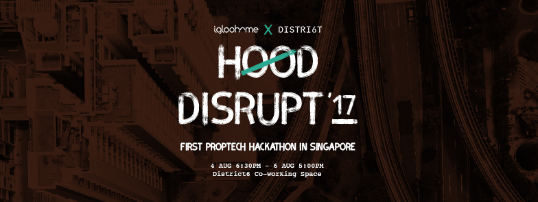 First Property Tech Hackathon in South-East Asia - Hood Disrupt