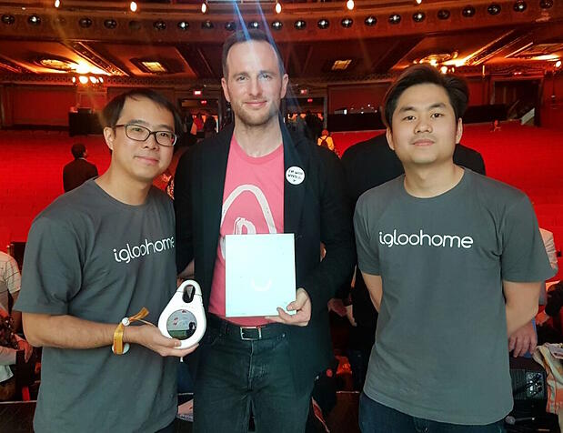 igloohome at Airbnb Open in Los Angeles