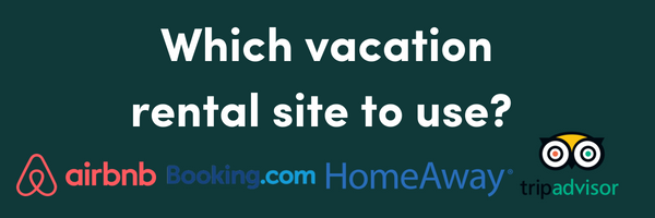 Which vacation rental site should you use if you're a host?