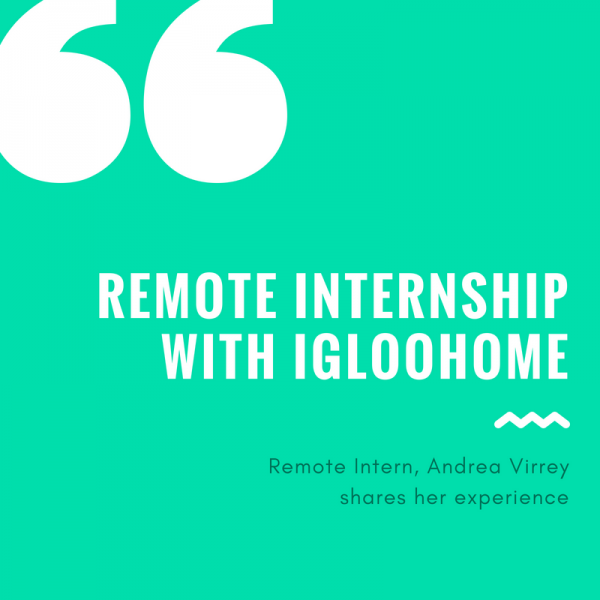 Remote internship with igloohome