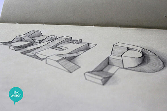 Typo Tuesday: 3D Epic by Lex Wilson