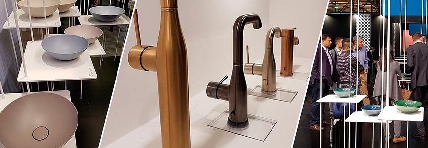 Latest bathroom trends from Milan Furniture Fair