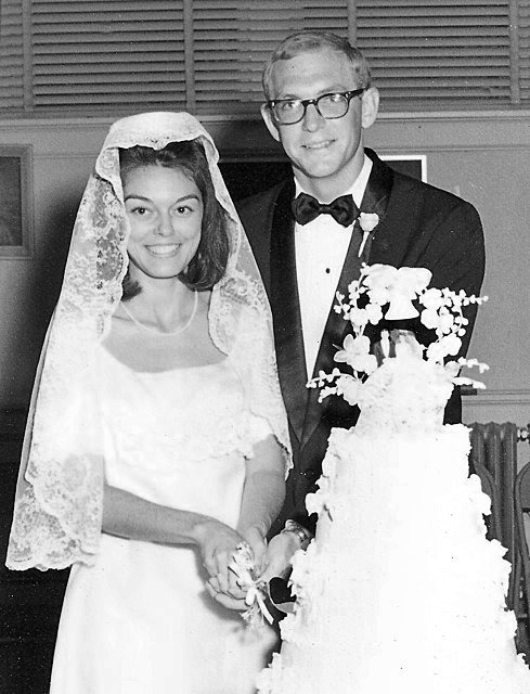 Wedding Photo of Mitch and Betsy Oakley