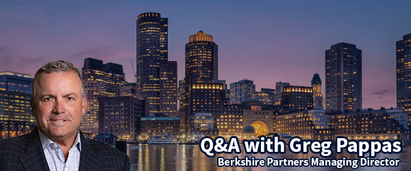 Q&A with Greg Pappas, Mangaging Director at Berkshie Partners