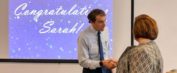 Sarah Becker VP promotion