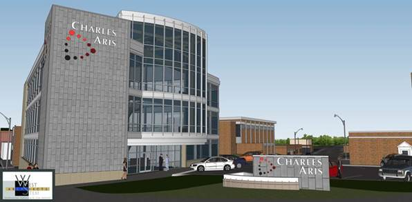 Take a look at the future charles aris inc headquarters