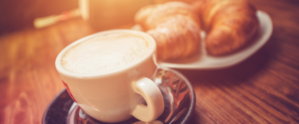 coffee and bread