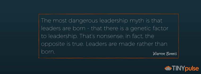 50 INSPIRATIONAL QUOTES ABOUT LEADERSHIP by TINYpulse