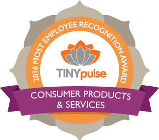 Office Sign Company Wins Consumer Products & Services Award from Tiny Pulse