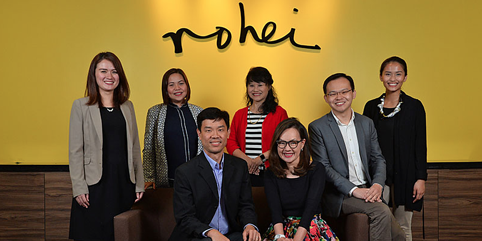 ROHEI Among 2017 Best Workplaces SG