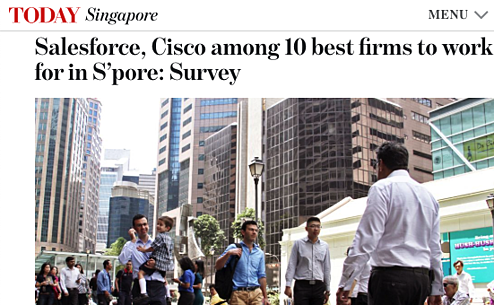 ROHEI Among The Best Places to Work 2015 Singapore