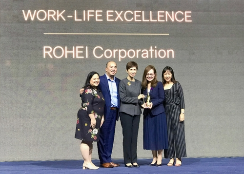 ROHEI Receives Work-Life Excellence Award